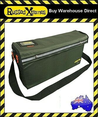 Rugged Xtremes Essentials LARGE Canvas Crib Bag Green Equipment Storage Extreme