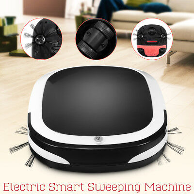 Smart Robot Vacuum Automatic Cleaner Cordless Dry Wet Dust Sweeping Rechargeable