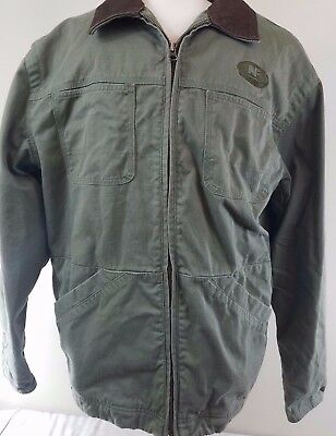 Swingster tough and Durable Workwear Mens Large Heavy Duty Jacket Coat -A5