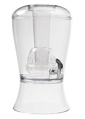 CreativeWare RM-BEV08 Beverage Dispenser with Ice and Infuser 3-Gallon Tritan