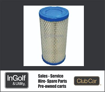 Club Car Golf Cart Air Filter Precedent  Parts Number102558201