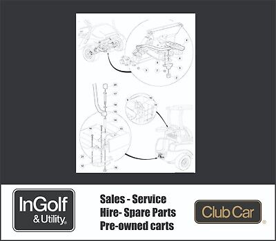 Club Car Golf Cart Deluxe Towing Kit Part Number 102539502