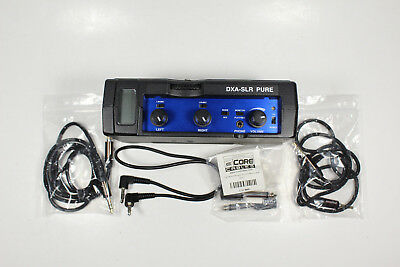 Beachtek DXA-SLR PURE Audio Adapter Excellent Condition.  Free Shipping!