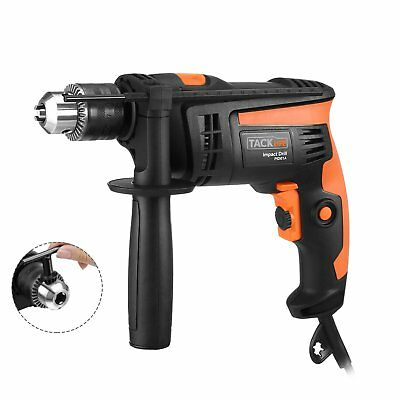 Tacklife PID01A Hammer Drill 6.0 Amp 1/2 In. 2800rpm Reversible with Variable