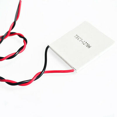 12V/60W Heatsink Thermoelectric Cooler Cooling Peltier Plate Modules TEC1-12706