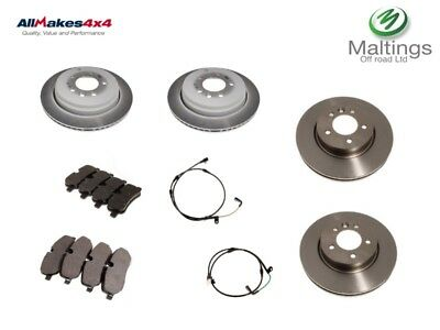 landrover discovery 3 brake discs and pads set front and rear brakes disco 3