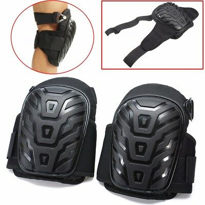 1Pair Gel Filled Knee Pads For Work Professional Gel Knee Pads +Adjustable Strap