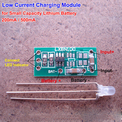 Small Capacity 3.7V Lithium Li-ion Mini Battery Charging Board Charger Module