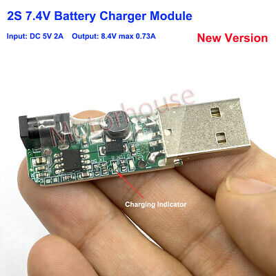 5V USB 2S 7.4V 8.4V Lithium Li-ion 18650 Battery Charging Board Charger Module