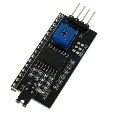 FP IIC I2C TWI SPI Interface Board Module PCF8574T for Arduino 1602 LCD 2004 LED