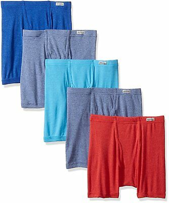 Fruit of the Loom Big Boys 5 Pack Beyond Soft Boxer Brief, Assorted, Large