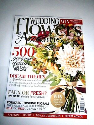 Wedding Flowers & Accessories Magazine November/December Issue 2017 (new)
