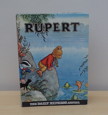 Rupert The Bear Annual Daily Express From 1969 ~  Unclipped