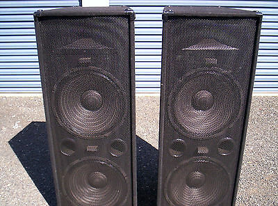 """A PAIR of Accusound  PA1520  2 x 15"""" & Horn PA / Music Speakers - Auction #2"""