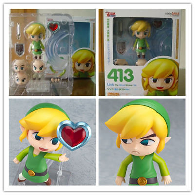 Nendoroid 413 Link The Legend of Zelda The Wind Waker Action Figure NEW in Box