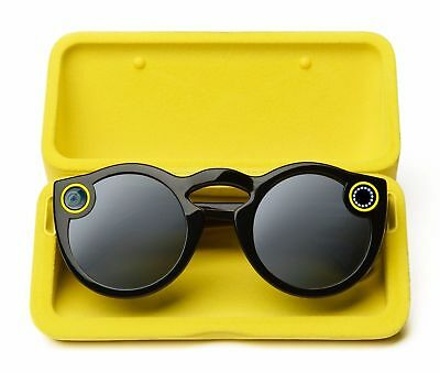 * BRAND NEW * SNAP *Black* Snapchat Spectacles Camera/Glasses - Snap Chat