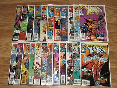 Lot of 29 X-MEN Comic Books  # 58 59 60 63 66 67 68 70 - 90 Vol. 1 (1992)