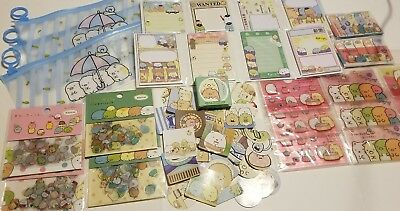 SET Sumikko Gurashi Lot Sticky Notes Sticker box set Notepads Card Kawaii 9packs