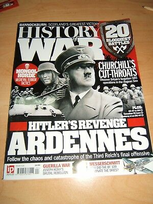 History of War Magazine Issue 24 Features the Ardennes, Bannockburn, SBS