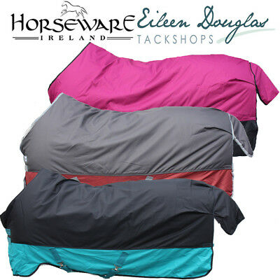 HORSEWARE TURNOUT RUG 250G - Mio Cut With Tougher Amigo Hero Outer Shell