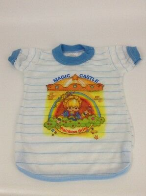 Vintage 80's Rainbow Brite Magic Castle Night Gown Toy Doll Outfit Accessory
