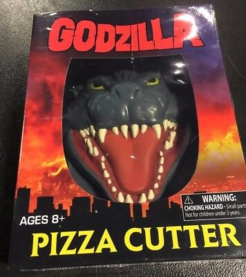 Godzilla 2000 Appearance Pizza Cutter NEW Toys Collectibles Kitchen FREE SHIP US