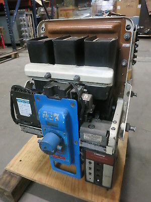 General Electric AK-2A-25-1 600A Electrically Operated 125VDC Breaker Air GE 2 A