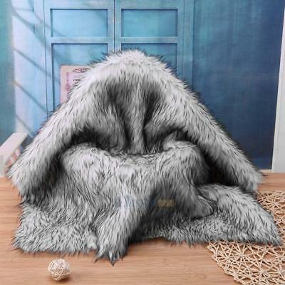 Newborn Baby Infant Fur Imitation Rug Blanket Photography Background Photo Props