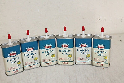 NOS New Old Stock ENCO HANDY OIL CAN 4 oz. Household Handy Oil FOR 1 CAN