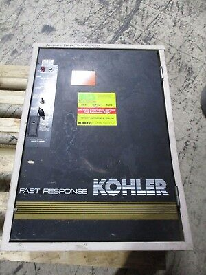 Kohler Automatic Transfer Switch K-166541-0070 70A 480V 3Ph 4W 60Hz 3P Used