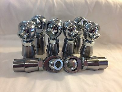 4 link KIT 3/4 x 3/4-16 CHROMOLY HEIM JOINTS HMS 3/4-5/8