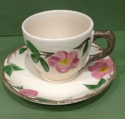 Franciscan Desert Rose Tea Cup and Saucer