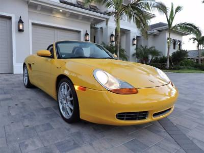 2000 Porsche Boxster S 2000 Porsche Boxster S- 17K Miles, 6-Speed, Leather, Immaculate Convertible