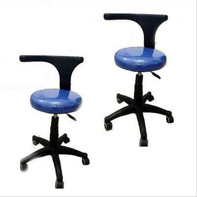 New Dental Medical Office Stools Assistant's Stools Adjustable Mobile Chair PU