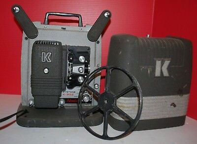 Vintage Keystone K-902 8MM Film Projector Works Read SC TC