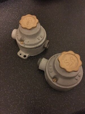 S&A Retro Industrial Light Switches  Like GEC Mek Lek