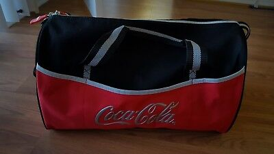 Coca -Cola Canvas Duffle Bag, Gym Bag NWOT