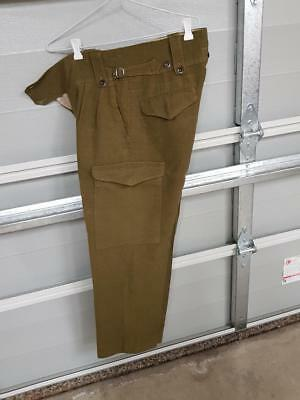 Australian Army WWII Issue  Woolen Trousers Used