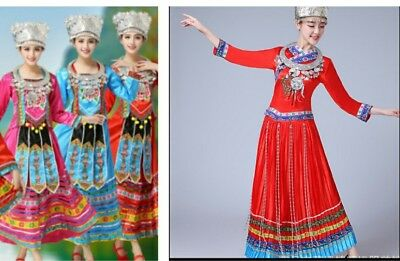 Hmong, miao, chinese dancing costumes (dresses)
