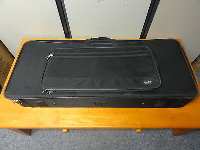 "Mbt3900 39"" Mbt Semi Rigid Keyboard Case With Wheels, Velcro Straps & Padding"
