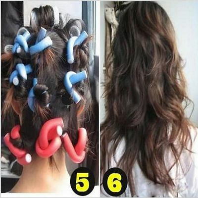 Curler For Women Accessories Curls DIY Bendy Hair Rollers Styling Twist Tool