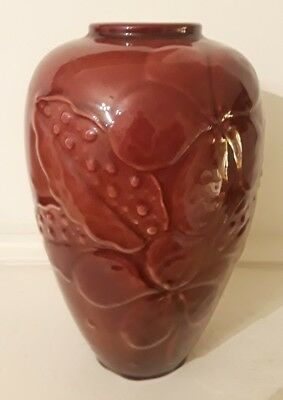 Fine Rookwood Vase, model 6893, burgundy red glaze