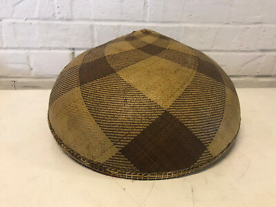 Vintage Antique Chinese Woven Rice Field Farm Worker Sun Hat