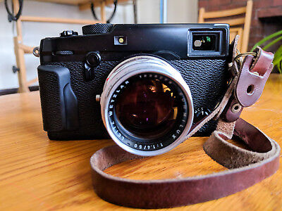 Fujifilm M Mount Adapter for X Mount Fuji Cameras Used to fit Vintage Lenses