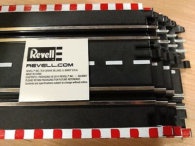 REVELL or ARTIN OEM 1/43 SCALE  4 QTY (STRAIGHTS) (BRAND NEW) LOCK TRACK