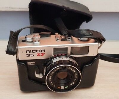 Ricoh 35 ZF 35mm Camera with Bag