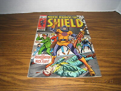 Nick Fury Agent Of SHIELD #15 First Bullseye