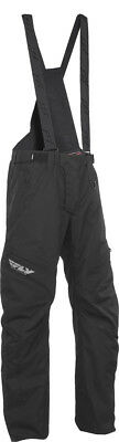 FLY RACING Snow Snowmobile - SNX PRO LITE Pants/Bibs (Black) M (Medium)