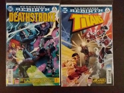 Titans 11, Deathstroke 19, The Lazarus Contract