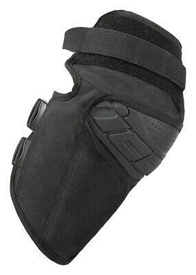 ICON Motosports Field Armor STREET KNEE Motorcycle Knee Guards (Black) SM-MD